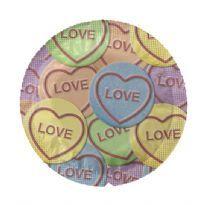 EXS Love hearts kondom