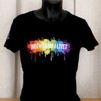 Pride T-shirt - sort - faconsyet