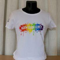 Pride T-shirt - hvid - faconsyet