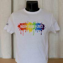 Pride T-shirt - hvid - standard fit